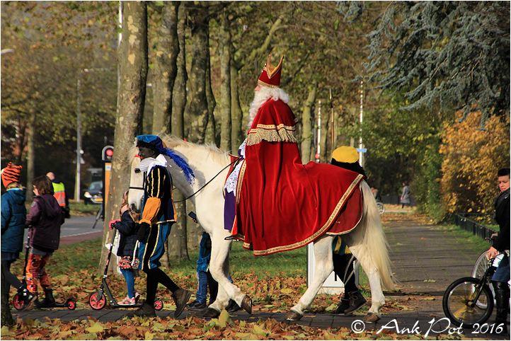 Intocht Sinterklaas Aa-landen